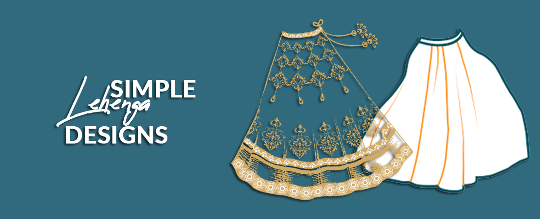 simple Lehenga for party