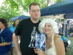 """2012, with RJ and """"Maxine Marie"""" from Haunting Obsession."""