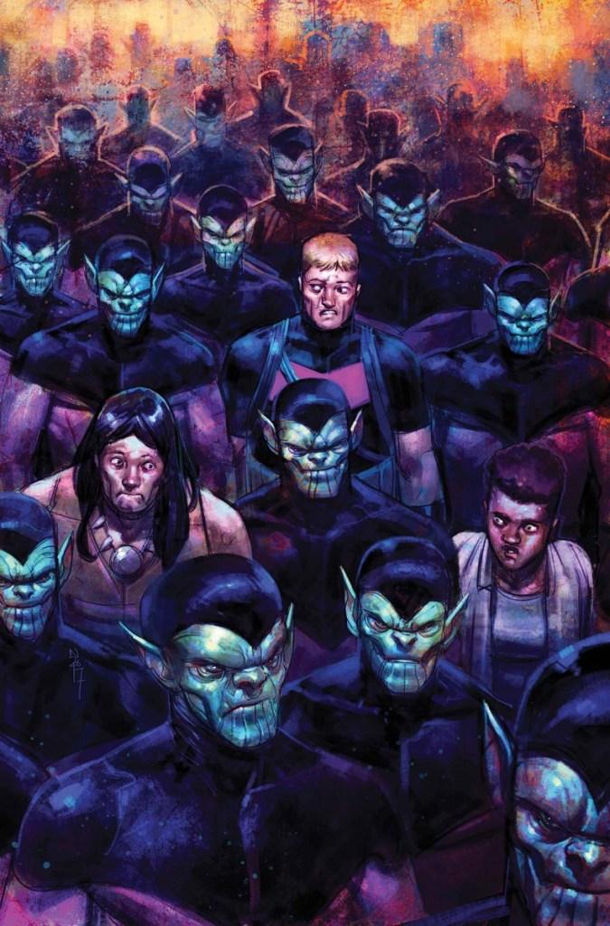 Skrulls, favorite non-human race