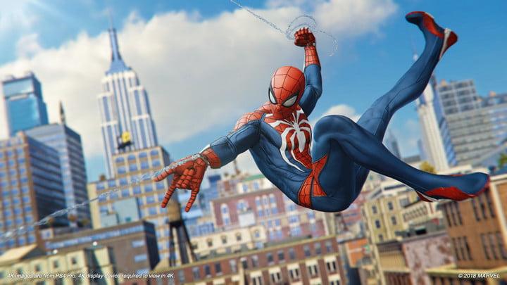 Marvel's Spider-Man. My favorite video game