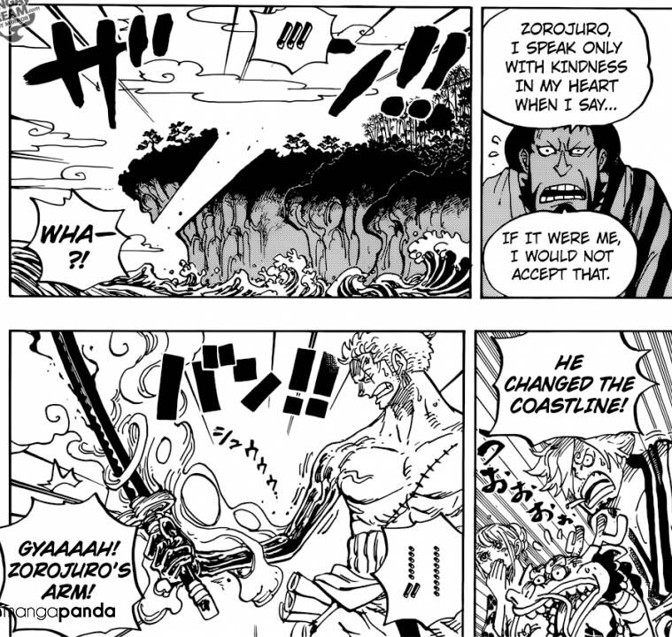 The power of Enma in One Piece Chapter 955