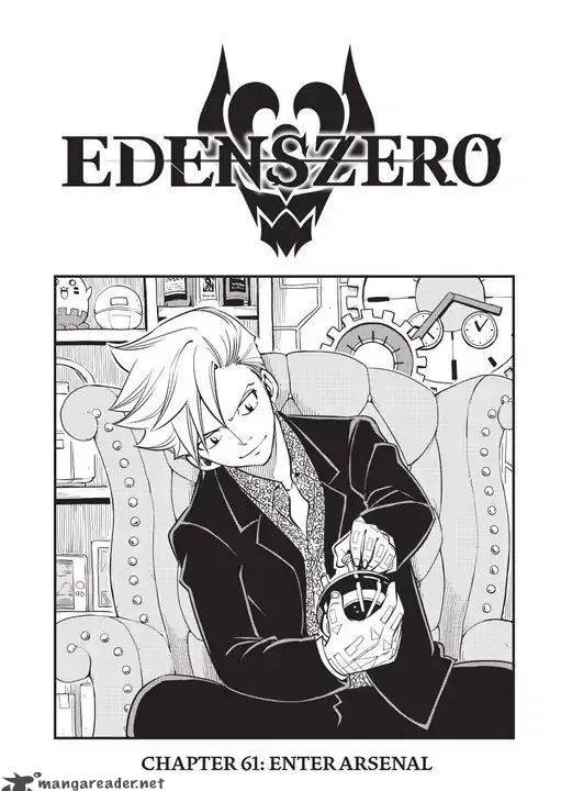 Edens Zero Chapter 61 Cover Page