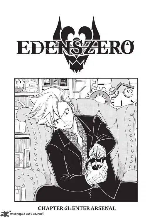 Edens Zero Chapter 61 Cover Image Arsenal