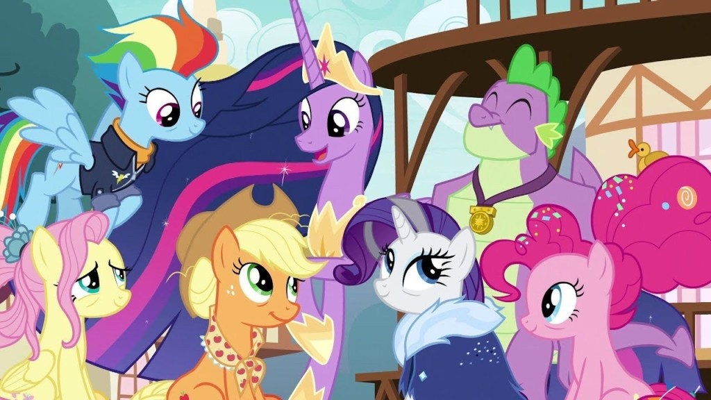 The future Mane Six, My Little Pony: Friendship is Magic