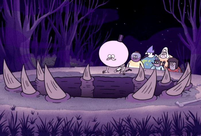 Regular Show Terror Tales -The Hole