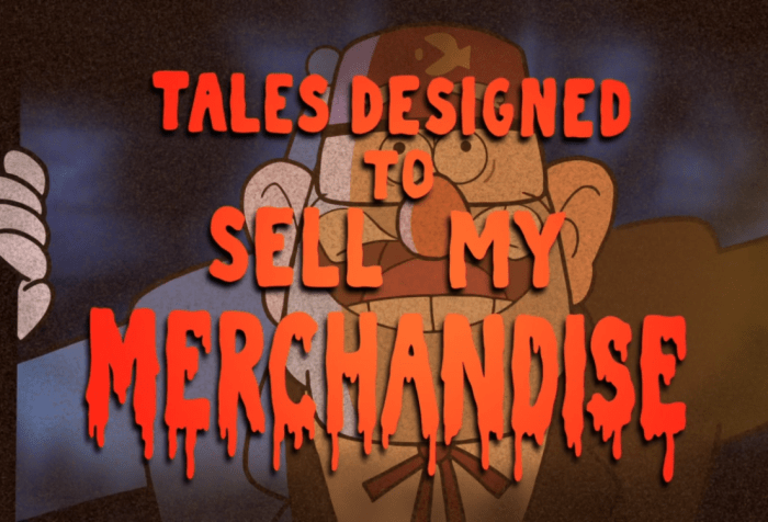 Grunkle Stan's Gift Shop of Horrors