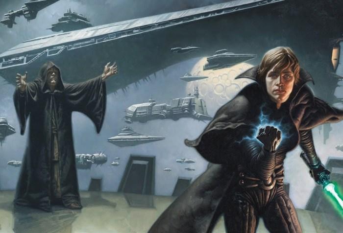 Darth Sidious, his Dark Empire, and his new apprentice