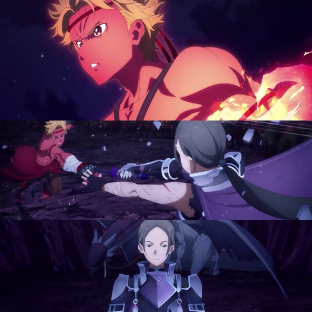 Sword and Fist Clash (Sword Art Online: Alicization-War of Underworld Episode 33)