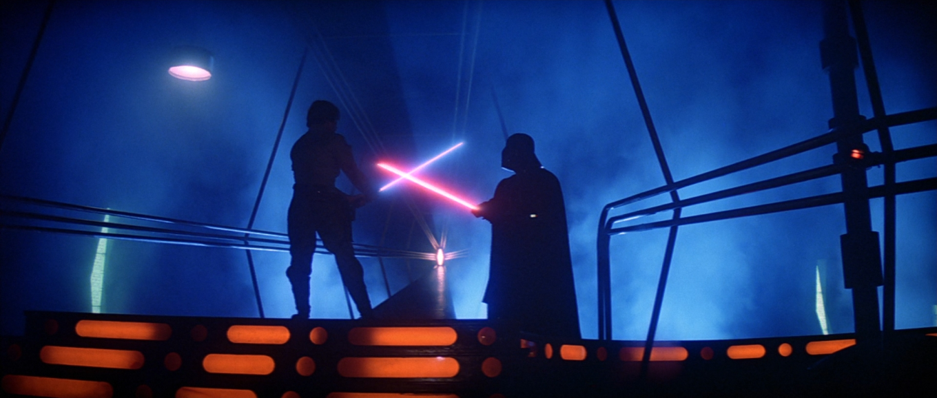 Lightsaber Duel on the Death Star