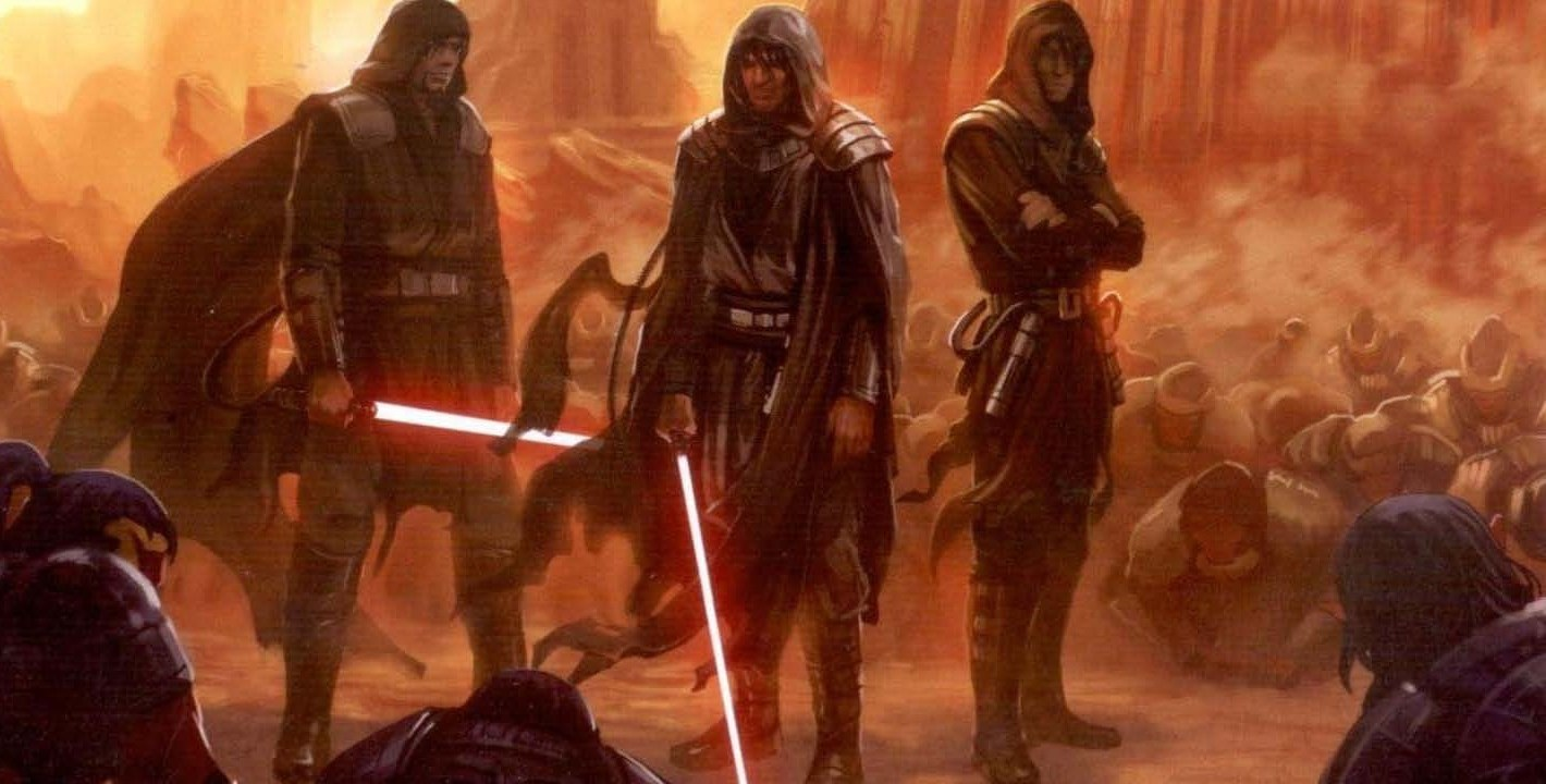 The First Dark Lords of the Sith Come to Power