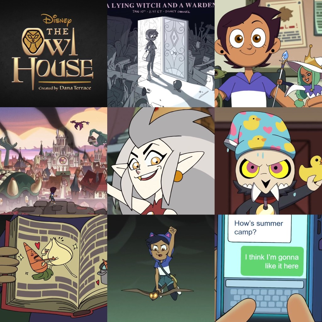 The Owl House First Episode in 9 scenes or less