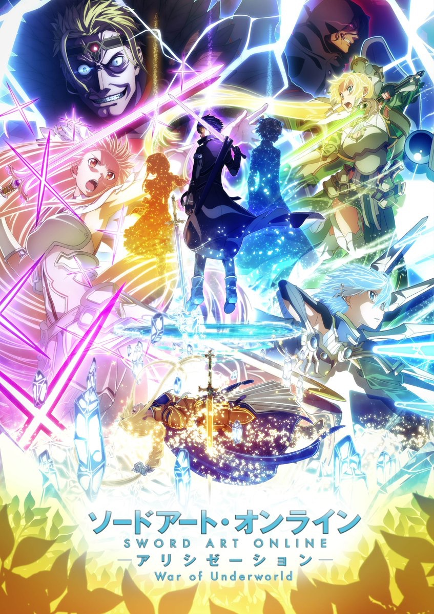 Sword Art Online: Alicization- War of Underworld Final Chapter Poster