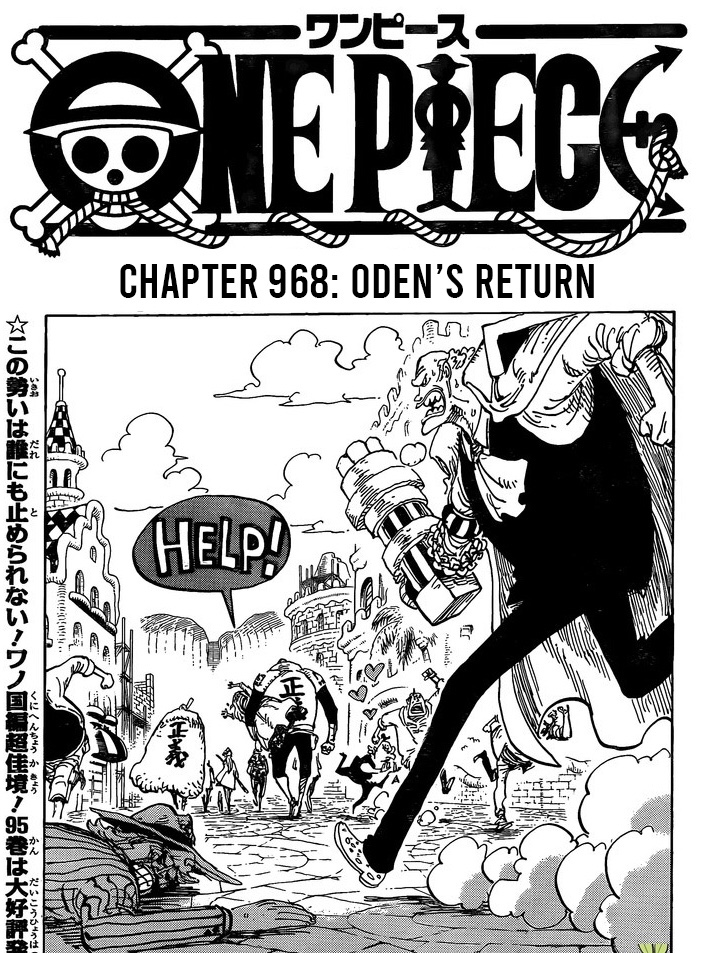 One Piece Chapter 968: The End of Oden's Voyage