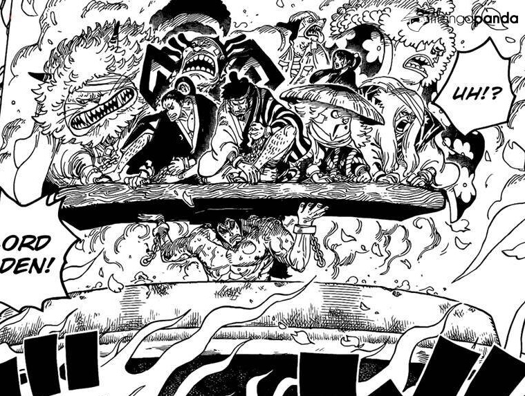 Oden protects the Nine Red Scabbards Chapter 971