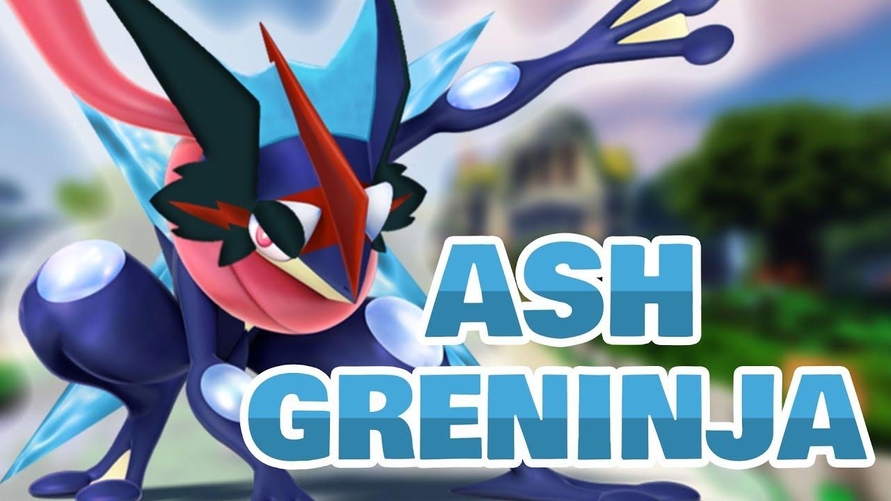Ash-Greninja Pokémon