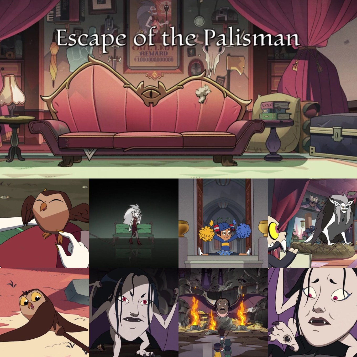 "The Owl House Episode 10 ""Escape of the Palisman"" Biggest Moments"