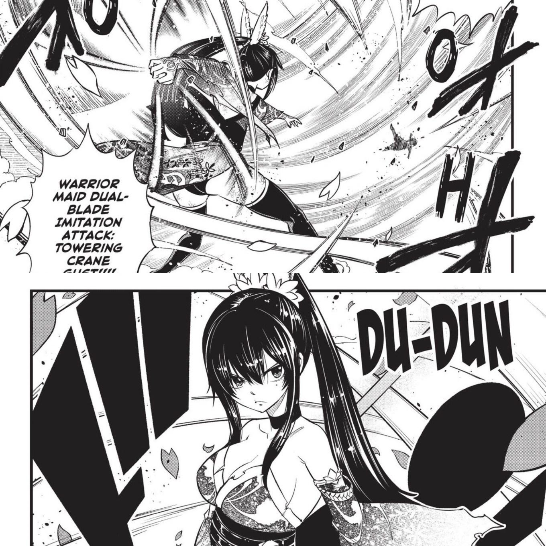 Edens Zero Chapter 91 Homura Blows Sylph Away
