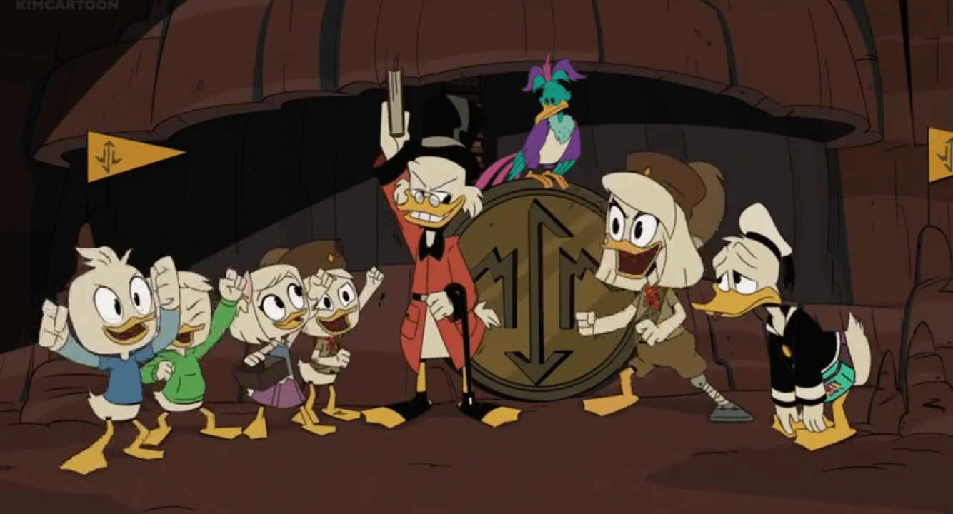 "DuckTales Season 3 ""Challenge of the Junior Woodchucks"""