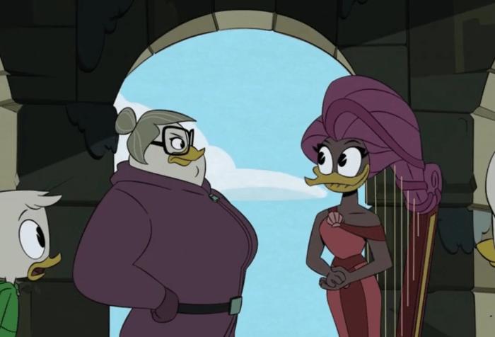 """Ducktales Season 3 Episode 4 """"Lost Harp of Mervana"""""""