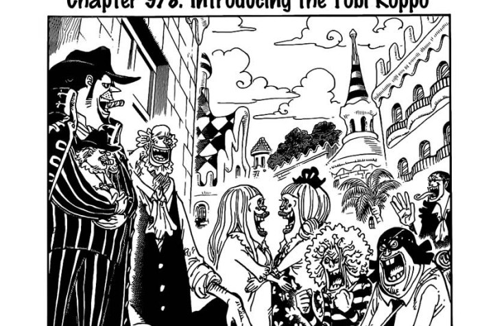 One Piece Chapter 978 Cover Page