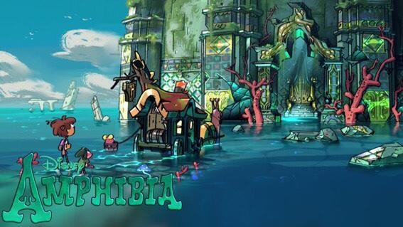 Amphibia Season Two teaser art