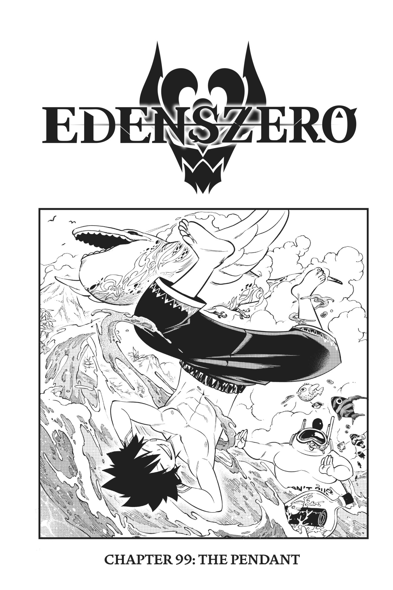 Edens Zero Chapter 99 Cover Page