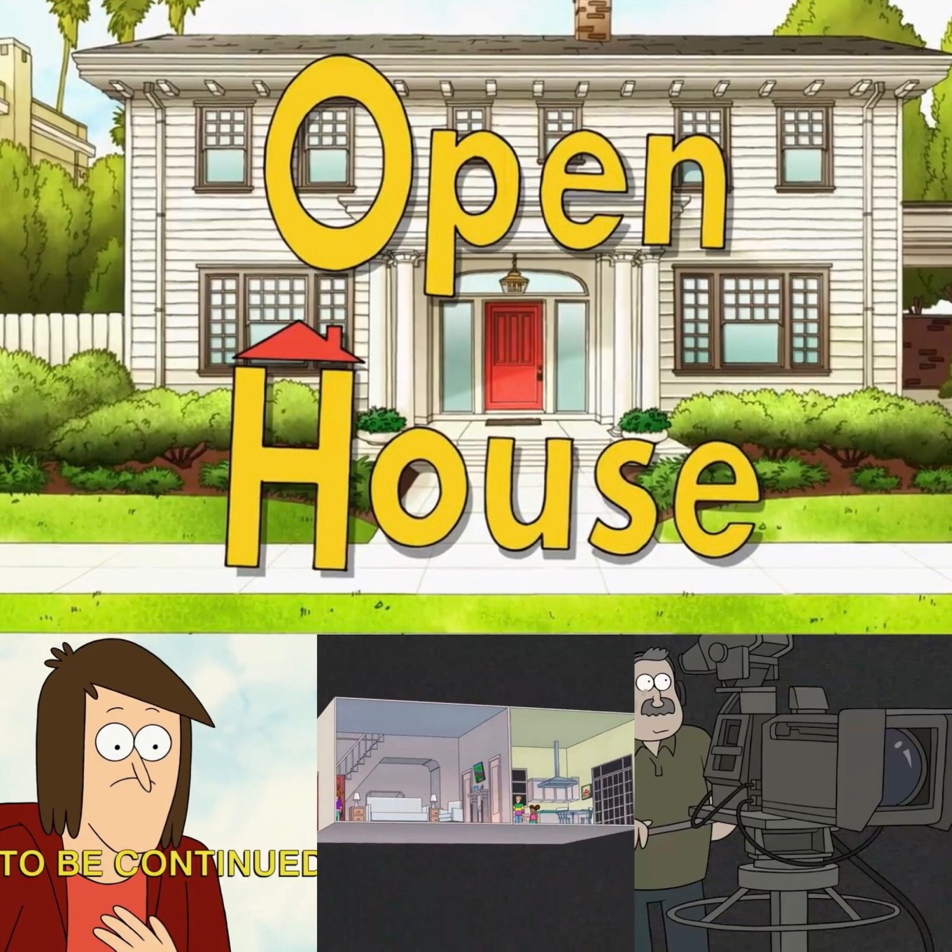 Close Enough Episode 1B- Perfect House highlight- Emily and Josh get trapped in an open house turned cliche sitcom