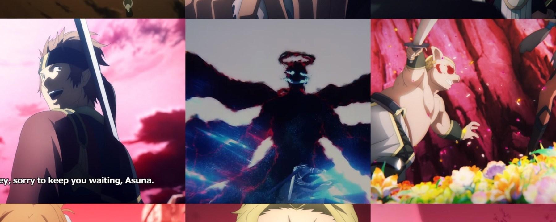 Sword Art Online: Alicization- War of Underworld Episode 37