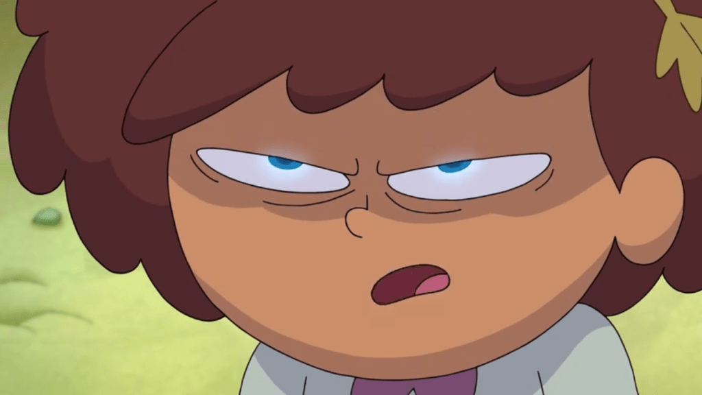 img_2278Amphibia, Season 2 Episode 1A- Handy Anne and Anne's Eyes Glow Blue