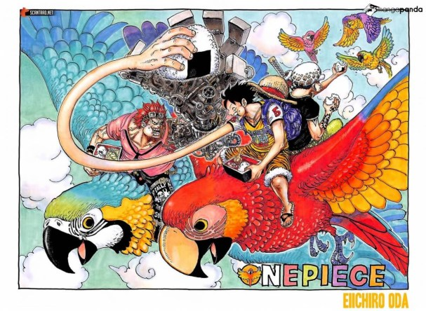 One Piece Chapter 985 Cover Page