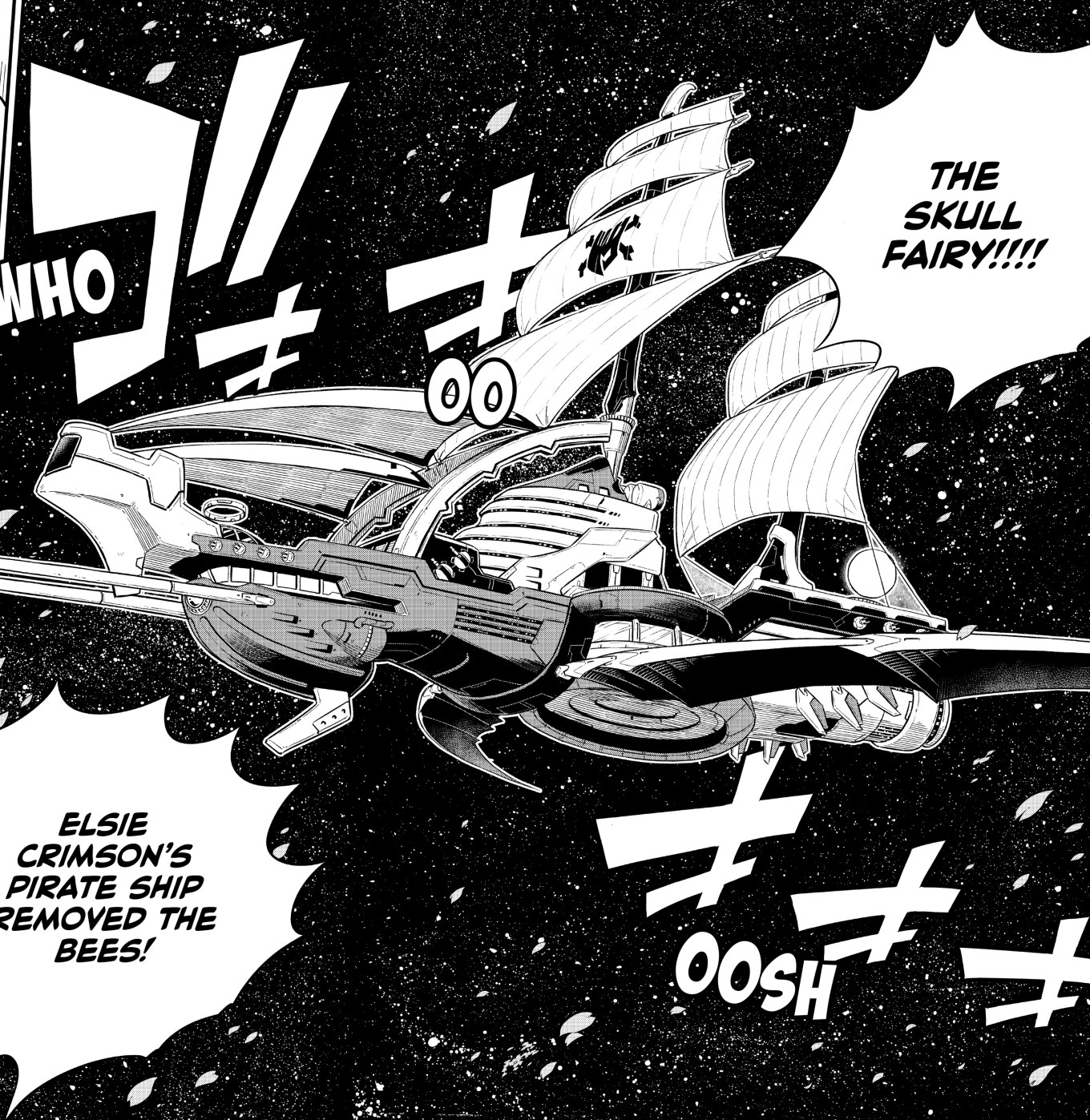 Edens Zero Chapter 103- The Skull Fairy