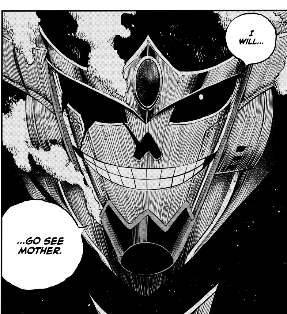Edens Zero Chapter 104- The Dark Demon King Ziggy