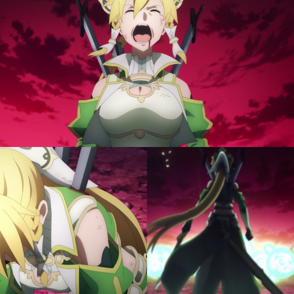 Sword Art Online: Alicization- War of Underworld Episode 41- Leafa's Will