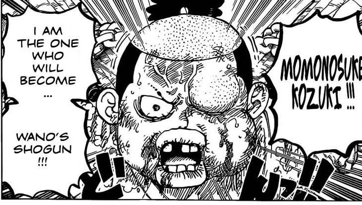 One Piece Chapter 986- My Name is Momonosuke Kozuki