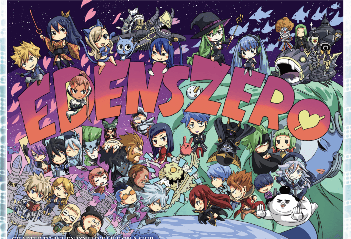 Edens Zero Chapter 112 Cover Page