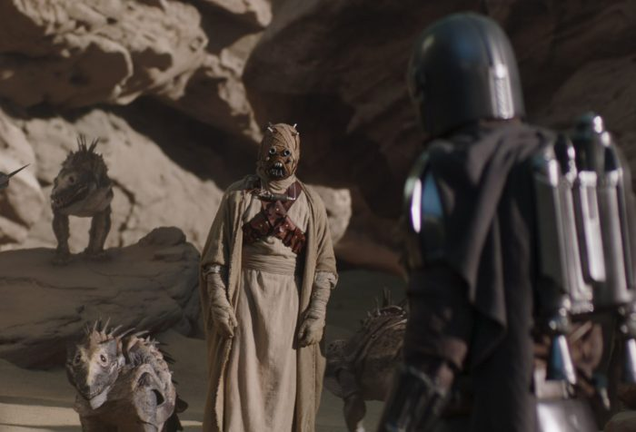 The Mandalorian Episode 9- The Marshal, Mando and the Tusken Raiders
