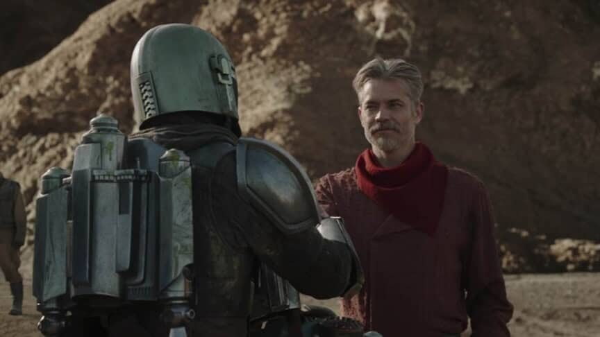 Mandalorian Episode 9- the Marshal, Marshal and Mando Part as Friends