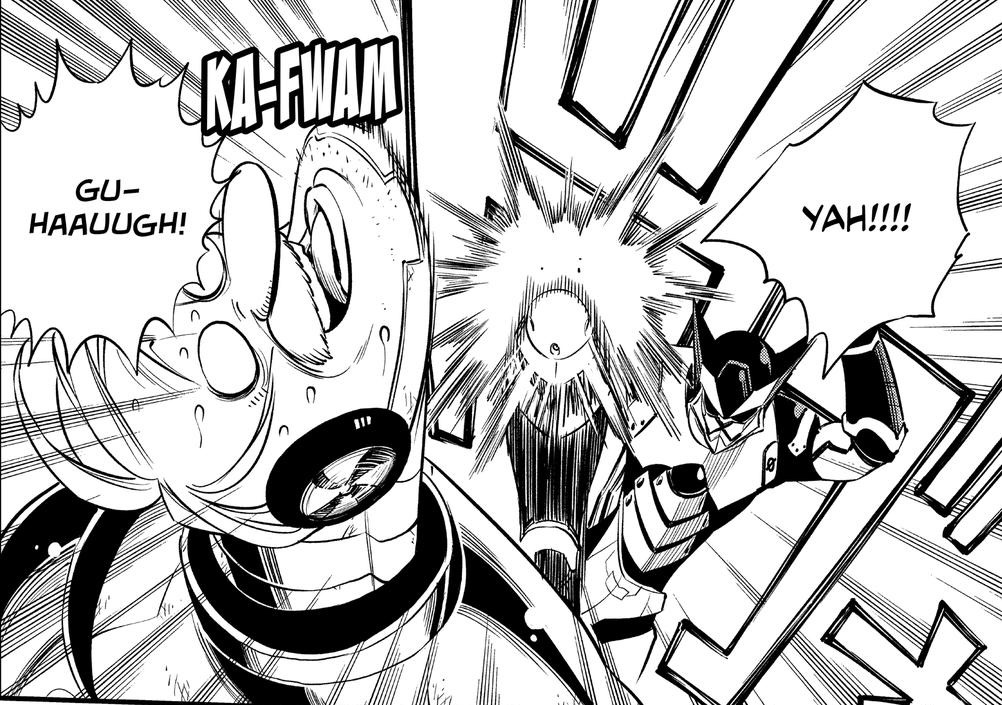 Edens Zero Chapter 125 Arsenal Pounds the Dr