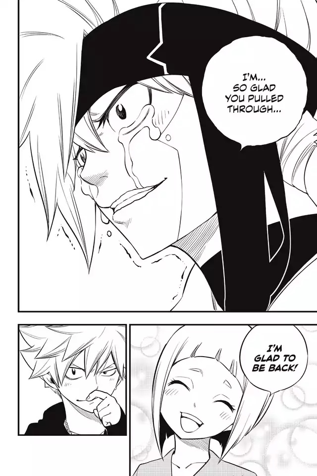 Edens Zero Chapter 129-Kleene and Jinn's First Displays of Emotion