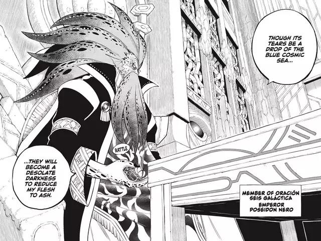 Edens Zero Chapter 130-Emperor Poseidon Nero