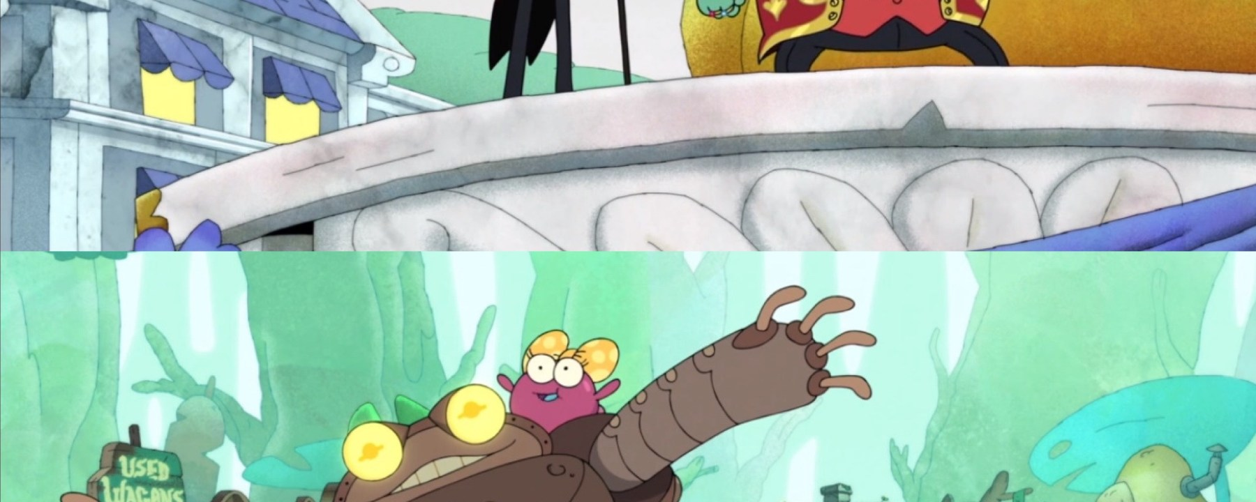 Amphibia Season 2 Episode 15-New Wartwood and Friend or Frobo