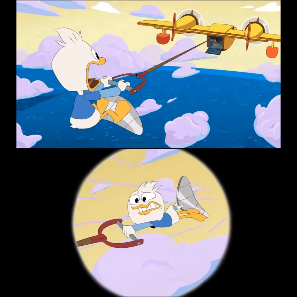 DuckTales Season 3 Episode 20-Dewey Sucks at Cloudkicking