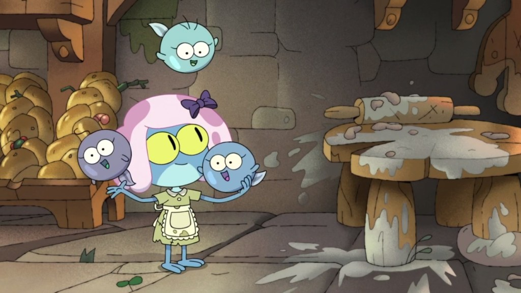 Amphibia Season 2 Episode 16-Young Maddie and Sisters