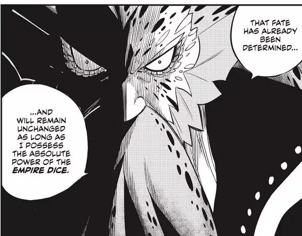 Edens Zero Chapter 138-Poseidon Nero's Dice