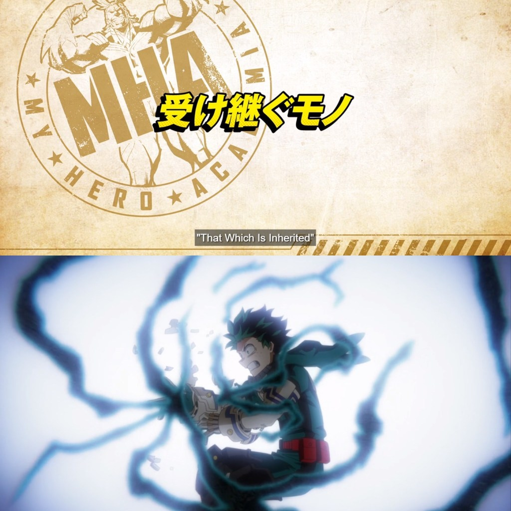 My Hero Academia S5 Episode 10 Cover
