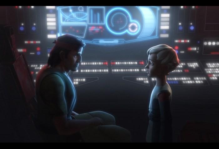 Star Wars: The Bad Batch Episode 2-Hunter and Omega