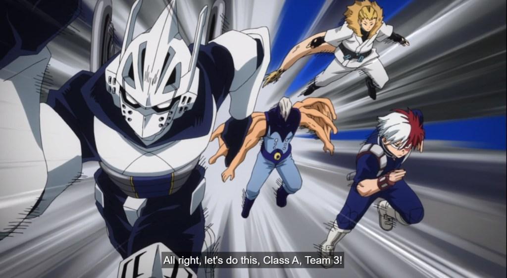 My Hero Academia S5 Episode 6-Class A, Team 3