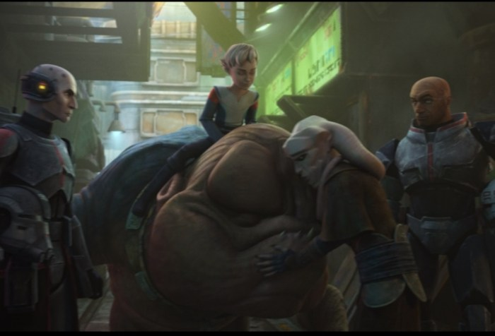 Star Wars: The Bad Batch Episode 5-Rampage of the Rancor
