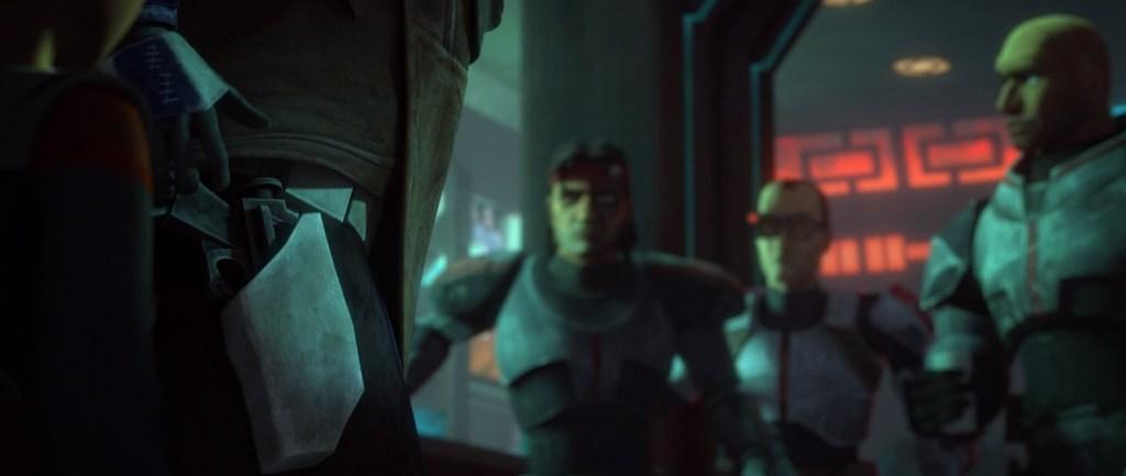 Star Wars: The Bad Batch Episode 7-Rex Gets A Little On Edge