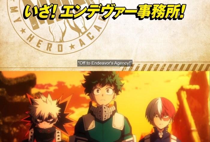 My Hero Academia S5 Episode 14 Opening